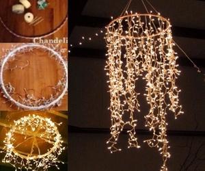 diy, light, and decoration image