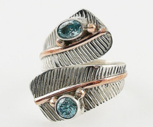 copper, jewelry, and sterling silver image