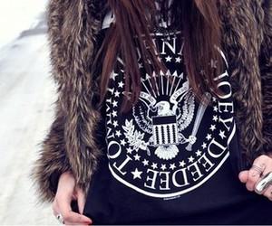 fashion, girl, and ramones image