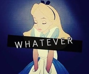 whatever, alice, and disney image