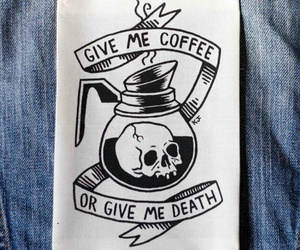 coffee, art, and death image
