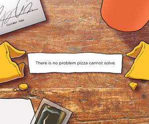 food, pizza, and problem image