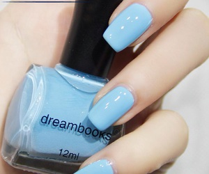 blue, crush, and nails image