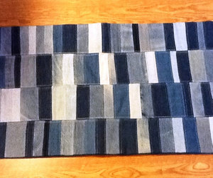 bath mat, patchwork rug, and etsy image