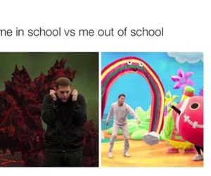 funny, school, and jonah hill image