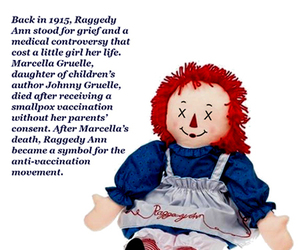 dolls, grief, and raggedy ann image