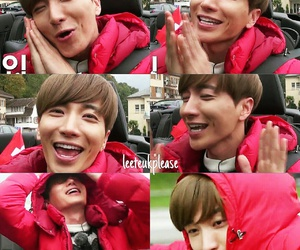 Leeteuk and red image