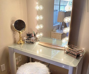 makeup, style, and vanity image