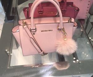 pink, bag, and Michael Kors image