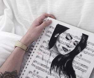 lana del rey, music, and drawing image