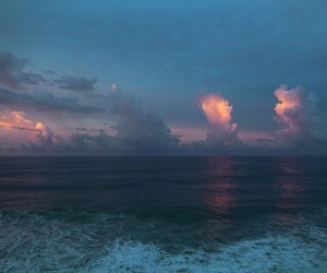 sky, sea, and nature image