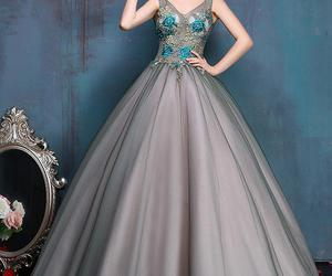 ballgown, fashion, and women image