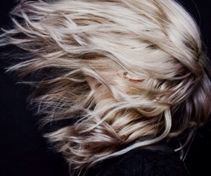 hair, blonde, and grunge image