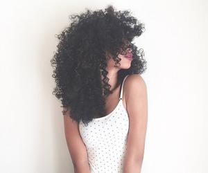 bonita, hair, and curly image