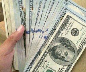 money, dollar, and grind image