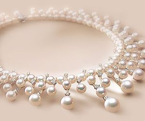 pearls, necklace, and pretty image