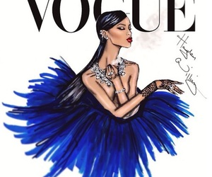 rihanna, vogue, and hayden williams image