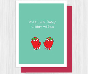 card, christmas, and etsy image