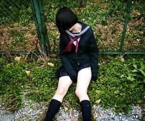 セーラー服 and 少女 image
