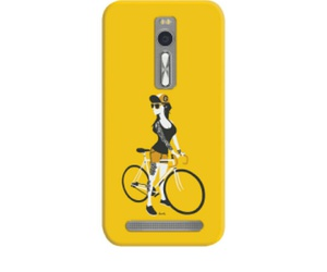 bicycle, mobile case, and biker image
