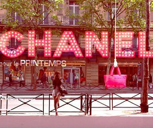 chanel, pink, and paris image