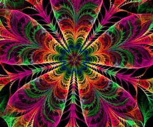 hypnotic and psychedelic image