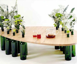 diy, flowers, and table image