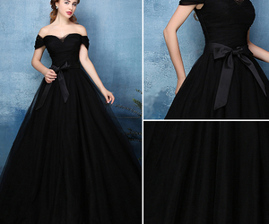 black, fashion, and party image