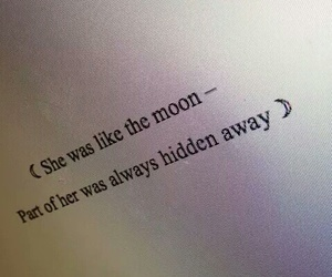 moon, quotes, and grunge image