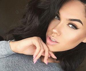 beauty, makeup, and eyebrows image