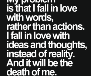 love, quote, and death image