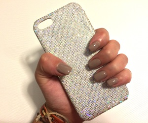cover, glitter, and iphone image