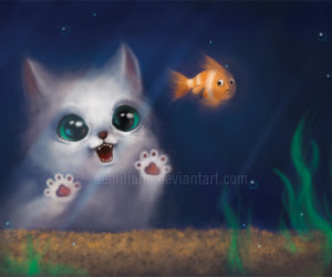 fish and painting image