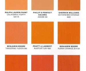 color, orange, and samples image