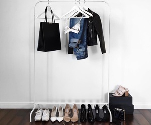 clothes, fashion, and rack image