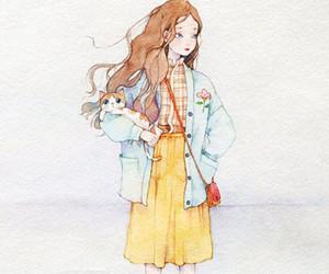 art, anime, and fashion image
