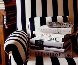 book, vogue, and interior image