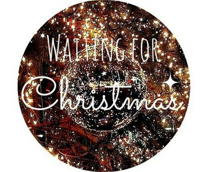 christmas and waiting image