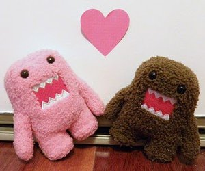 love, domo, and pink image