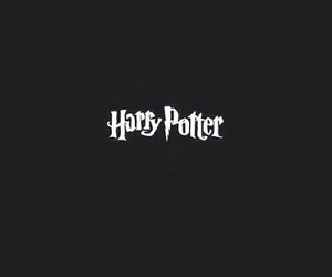 harry potter, black, and dark image