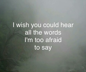 quote, words, and sad image