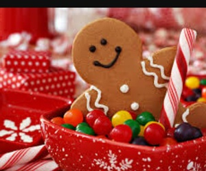christmas, sweet, and food image