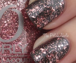 nails, cool, and glitter image