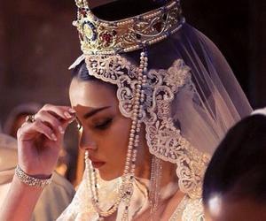 bride, wedding, and beauty image