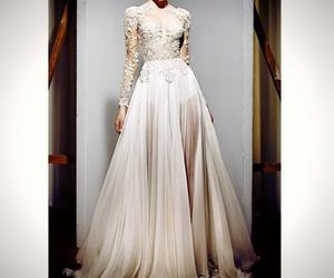 dress, Zuhair Murad, and white image