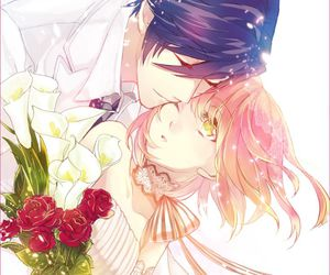 anime, anime couple, and ichinose tokiya image