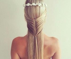 fashion, hair, and hairdo image