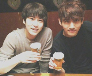 changmin, kyuhyun, and super junior image