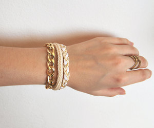 arm candy, etsy, and fashion image