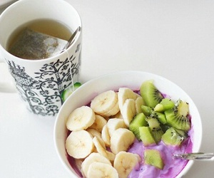 banana, kiwi, and breakfast image